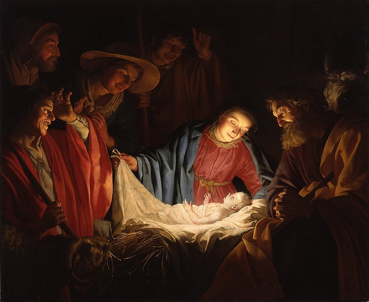 This image has an empty alt attribute; its file name is 730px-Gerard_van_Honthorst_-_Adoration_of_the_Shepherds_1622.jpg